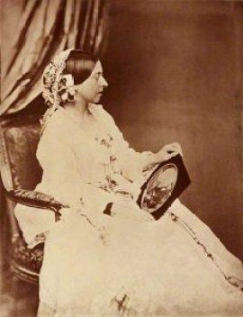 La Reine Victoria avant le deuil