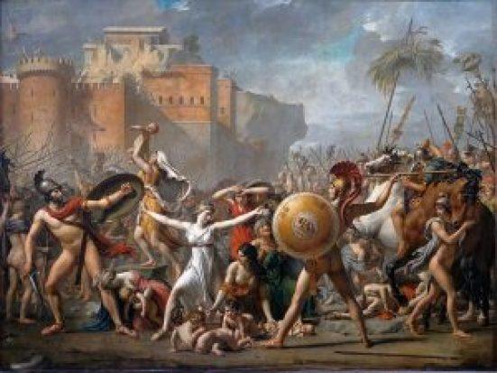 Les Sabines - 1799 - Jacques-Louis David