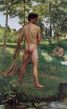 Pêcheur à l'épervier - 1868 - Frederic Bazille