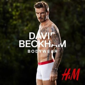 Pub David Beckham H&M