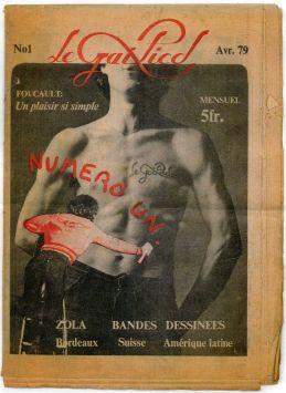 Premier numéro de Gai Pied - Avril 1979