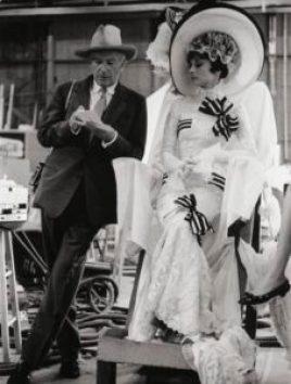 Cecil Beaton & Audrey Hepbrun (Costumier sur My fair Lady)