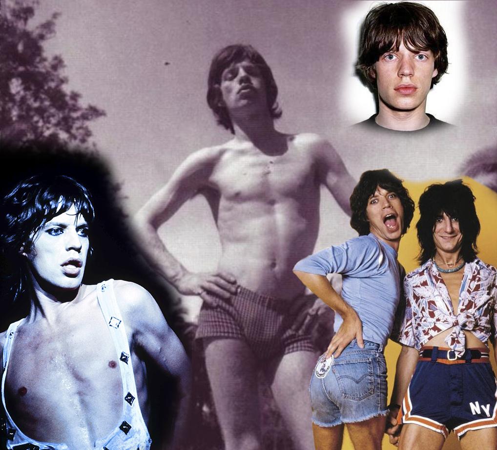 Mick Jagger - montage