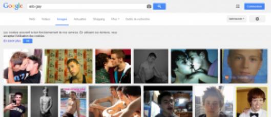 Capture d'écran- ado gay - google image
