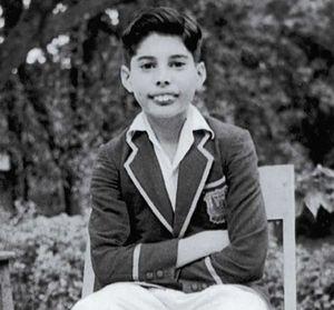 Farrokh Bulsara, avant qu'il ne se transforme en Freddie Mercury