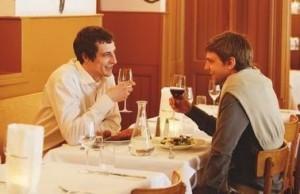 Premier diner - couple homo