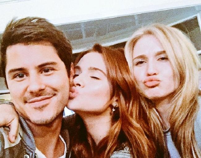 selfie avec les copines