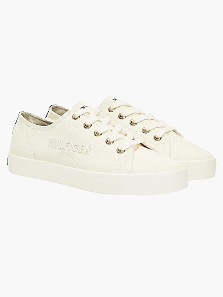 tommy hilfiger womens sneakers white