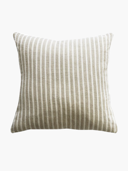 Mulberi Spencer Feather Cushion in Ivory