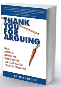Thank You For Arguing - Jay Heinrichs