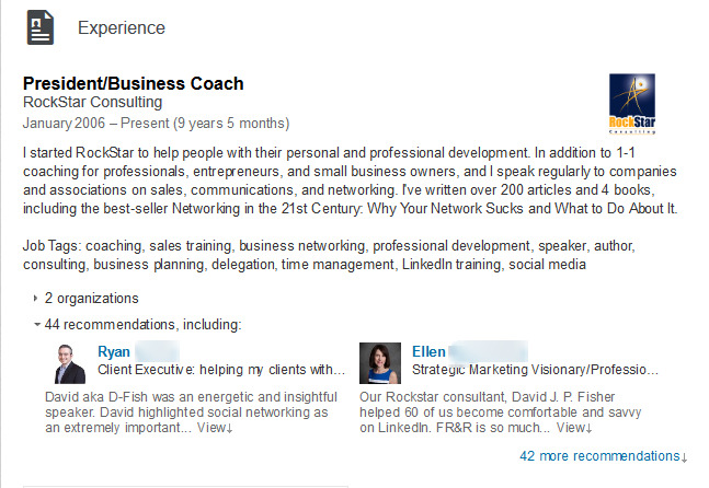 how to share your experience and not your resume on linkedin
