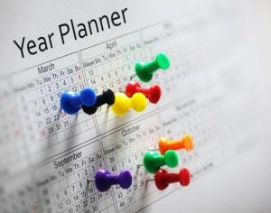 create a follow up calendar