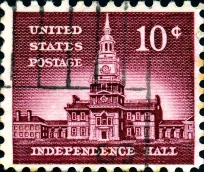 Independence Hall Stamp - compressed