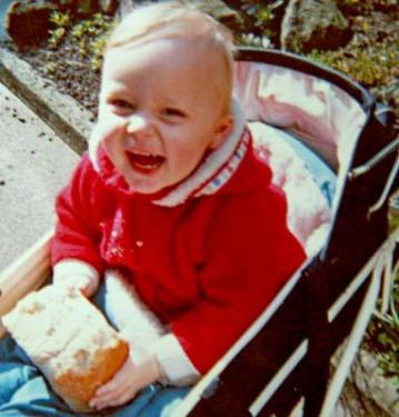 1971 - Djr - I used to eat the inside of the bread and leave the crust