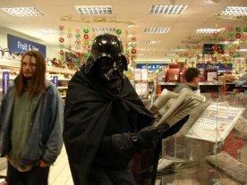 2007 Djr - Darth Vader Reading the local News