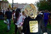 2011 - Djr - Zombie walk wearing UTOC public safety notice T-shirt