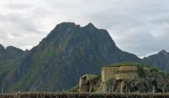 Travel photo - WWII World War Two bunker - Svolvaer - Norway - copyright David J Rodger