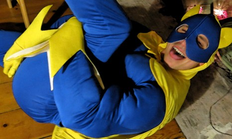 House Party 1st Victim is Banana Man Photo by David J Rodger