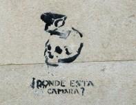 street art graffiti - Salamanca Spain - Donde Esta Camara