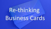 Re-thinking Business Cards