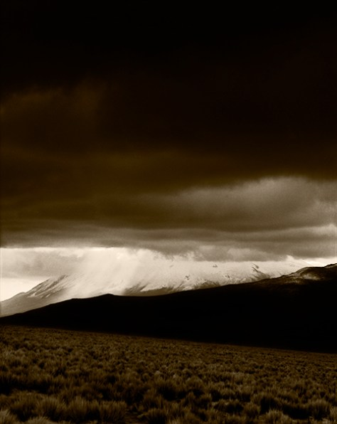 Clearing Storm Behind El Misti