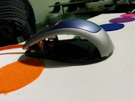 Eshu's colour sensing mouse