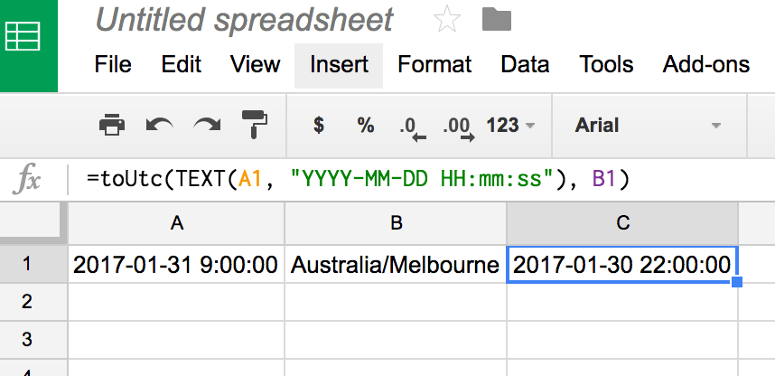 google sheets how to find time