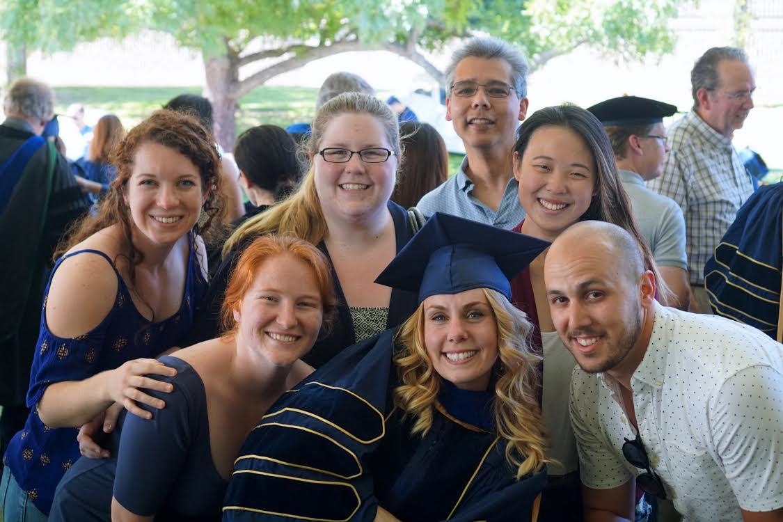 David Group Photo - Graduation 2017
