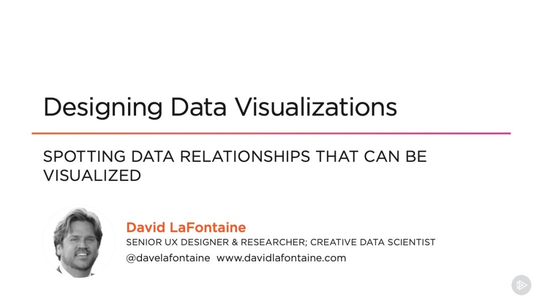 david lafontaine designing data visualizations course pluralsight