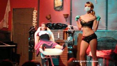 Trixie Minx as the Bad Dentist.