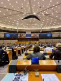 Premiär för mig vad gäller voteringar i plenisalen i Bryssel.