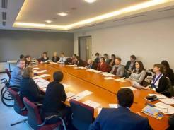Intergruppen för barns rättigheter, där jag är ordförande, träffade elva olika organisationer som jobbar med att skydda barn över världen. Bland organisationerna fanns bland andra Unicef och Rädda Barnen.