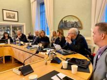 Fredagen tillbringades i Stockholm tillsammans med Partistyrelsen.