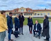 Studiebesök på Ågrenska, som är ett nationellt center för sällsynta diagnoser tillsammans med bland andra Pia Steensland och Hampus Hagman från riksdagen.