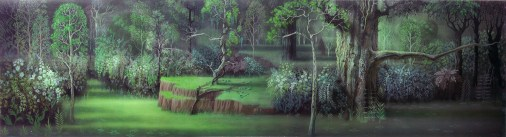 Sleeping Beauty Forest Background