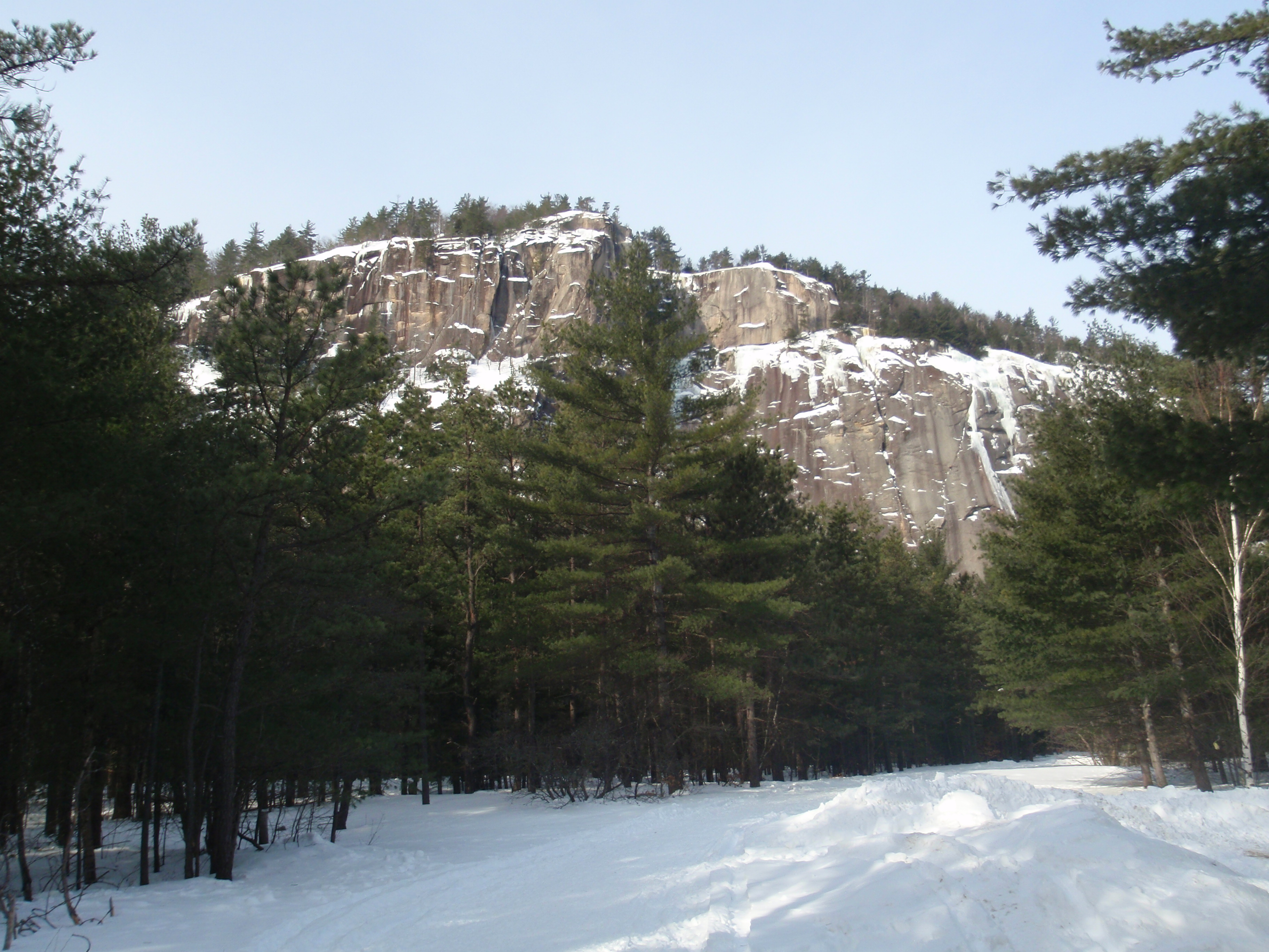 Cathedral Ledge, Echo Lake State Park, White Mountains, New Hampshire