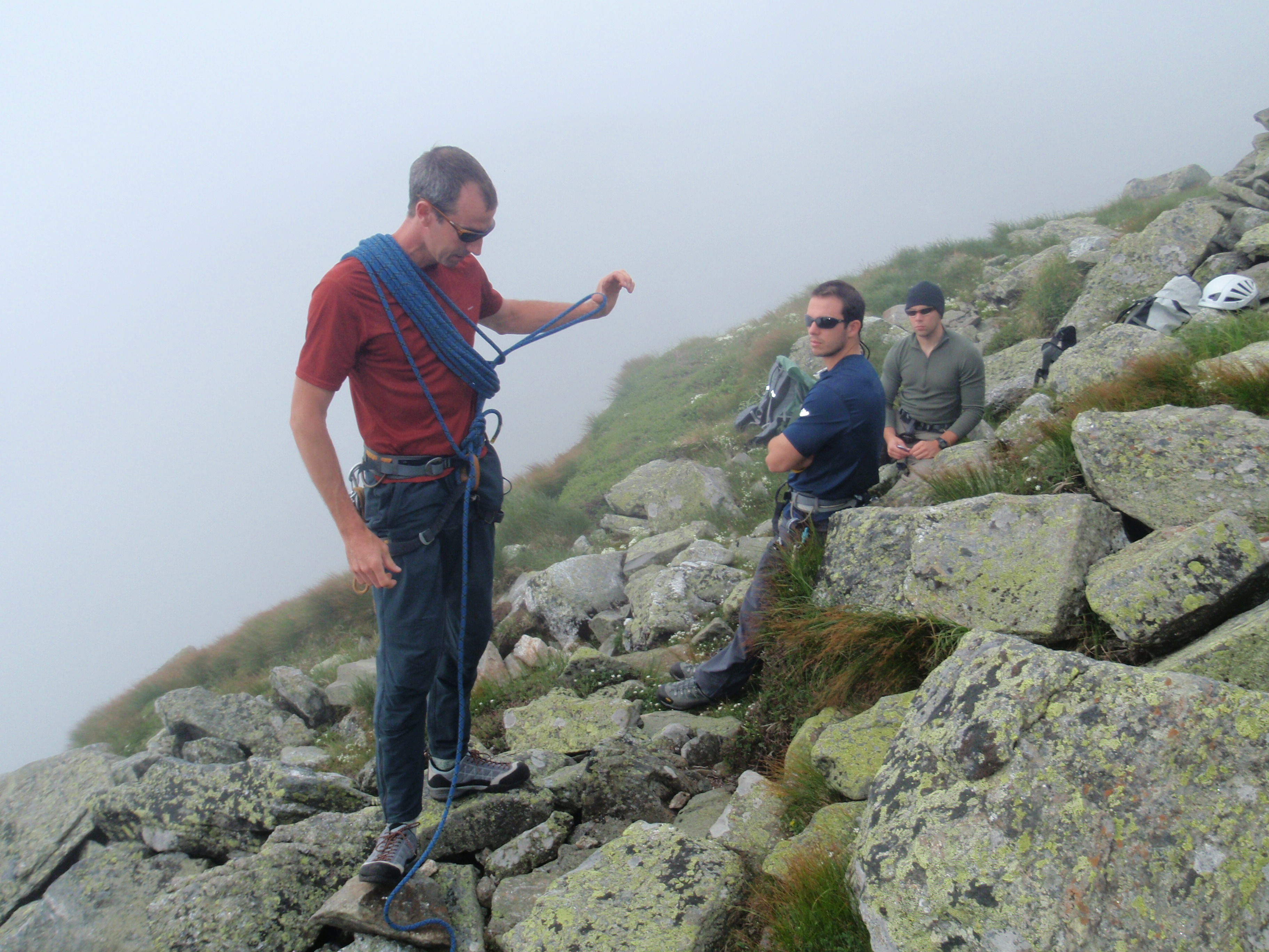 On our 3rd Day we went up on Mt. Washington for some more in depth training...