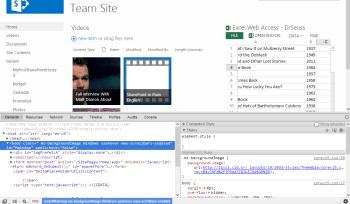 Chrome Developer Toolbar