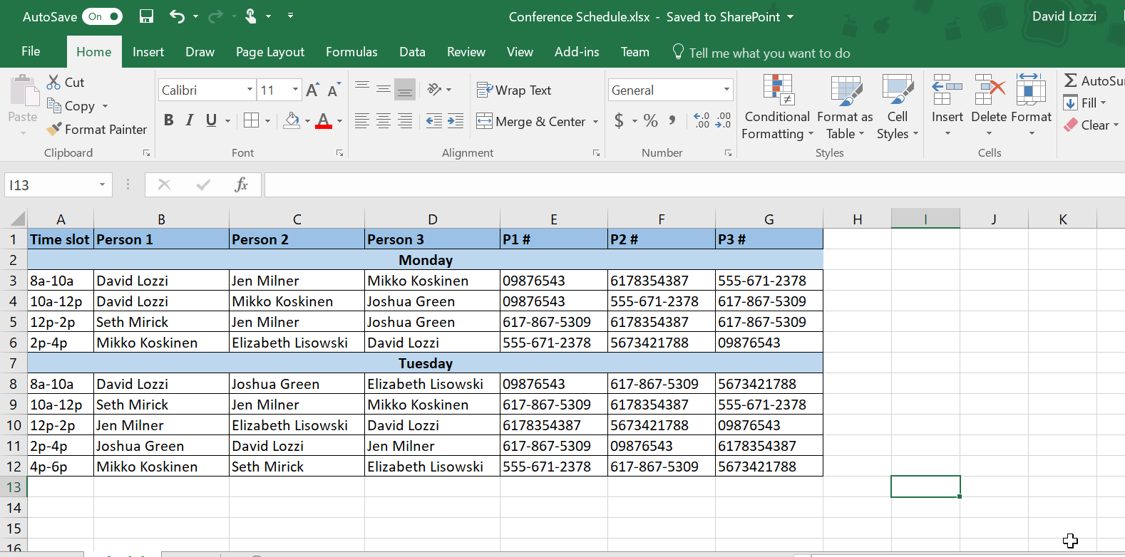 Use Microsoft Forms To Collect Data Right Into Your Excel File David Lozzi S Blog