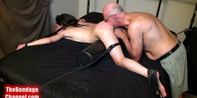 Spanking and Eating Young Butt
