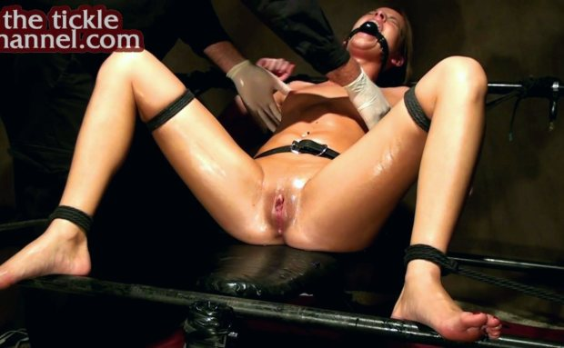 Oiled and Tickled