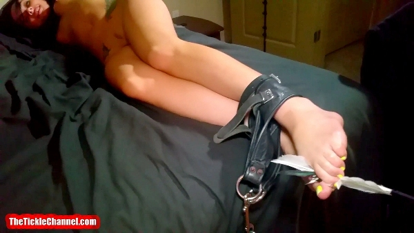 Maria Tickled Head to Toe POV