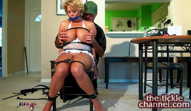 Big Tit MILF Chair Bound