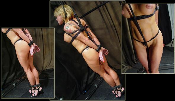 Muscle Blonde Predicament Bondage