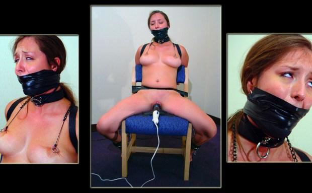 Chair Bound Orgasm Punishment