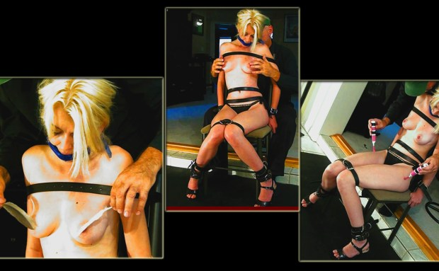 Chair Bound Tease and Tickle