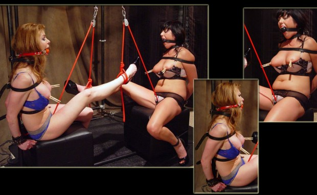 Dueling Vibrating Crotchropes