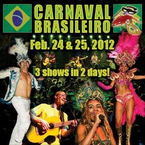 Beira Mar Brasil Carnaval 2012 Flyer