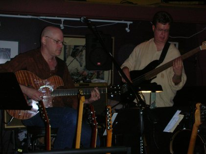 Jon Hughes, Ward Griffiths, and Mike Doolin at O'Connor's Portland, OR
