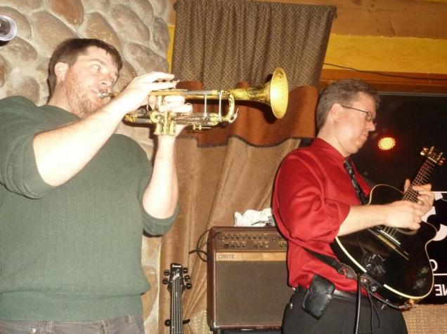 With Zack Lozier and Havana Hi-Fi at 318 Cafe, Excelsior, MN